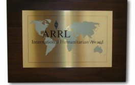 ARRL International Humanitarian Award Nominations Due by December 31
