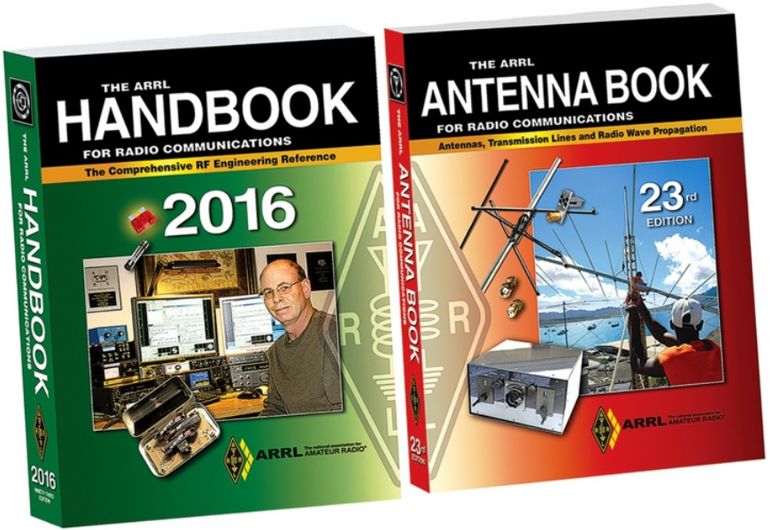 New ARRL Handbook, Antenna Book Editions Now Shipping