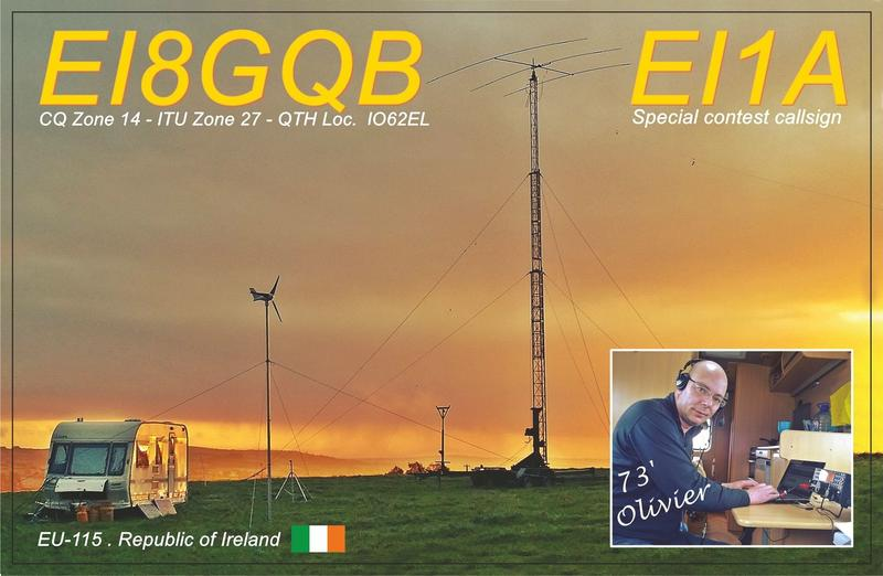 EI8GQB & EI1A –  Green Energy Station
