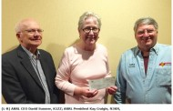 Hudson Amateur Radio Council Donates Nearly $9000 to ARRL