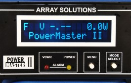 PowerMaster II Station Monitor, VSWR & RF Power Meters