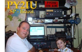 Guilherme – PU2XCW Amateur radio operator at 8