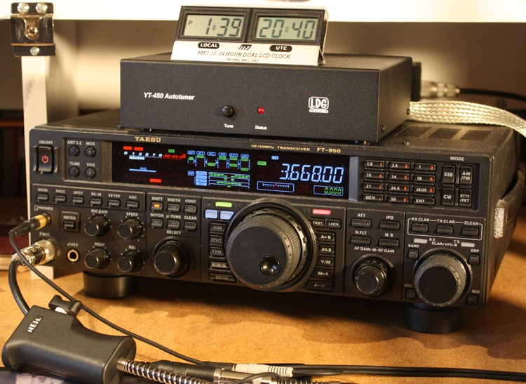 5 to 50w Contest DX from Seoul, Korea with Yaesu FT-950 and full loop antenna
