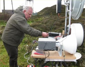 New UK Record on 76 GHz