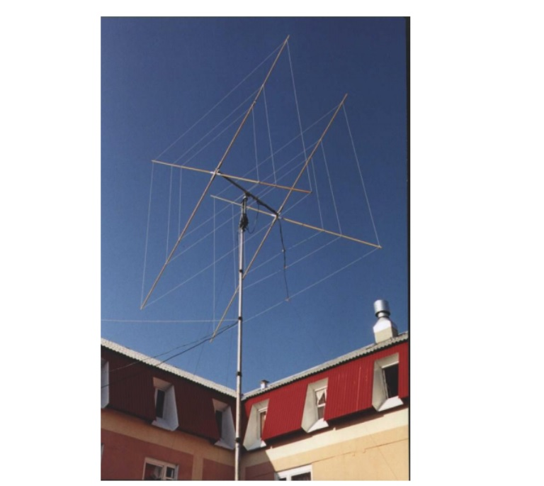 Two element QUAD antenna Model RQ-26H