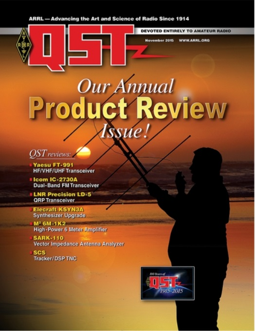 The November Edition of Digital QST is Now Available