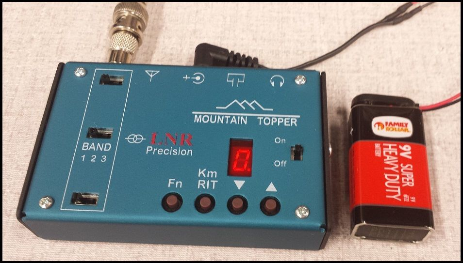 Mountain Topper Radio review by G0POT