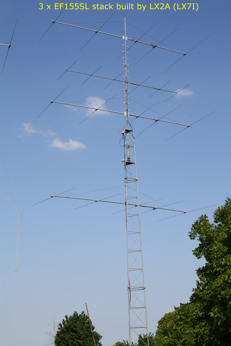 EF155SL – 21 MHz  Mono band antenna by YU7EF