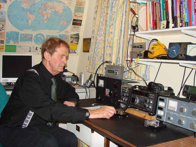 Uk Antenna Columnist And Author Peter Dodd G3ldo Sk