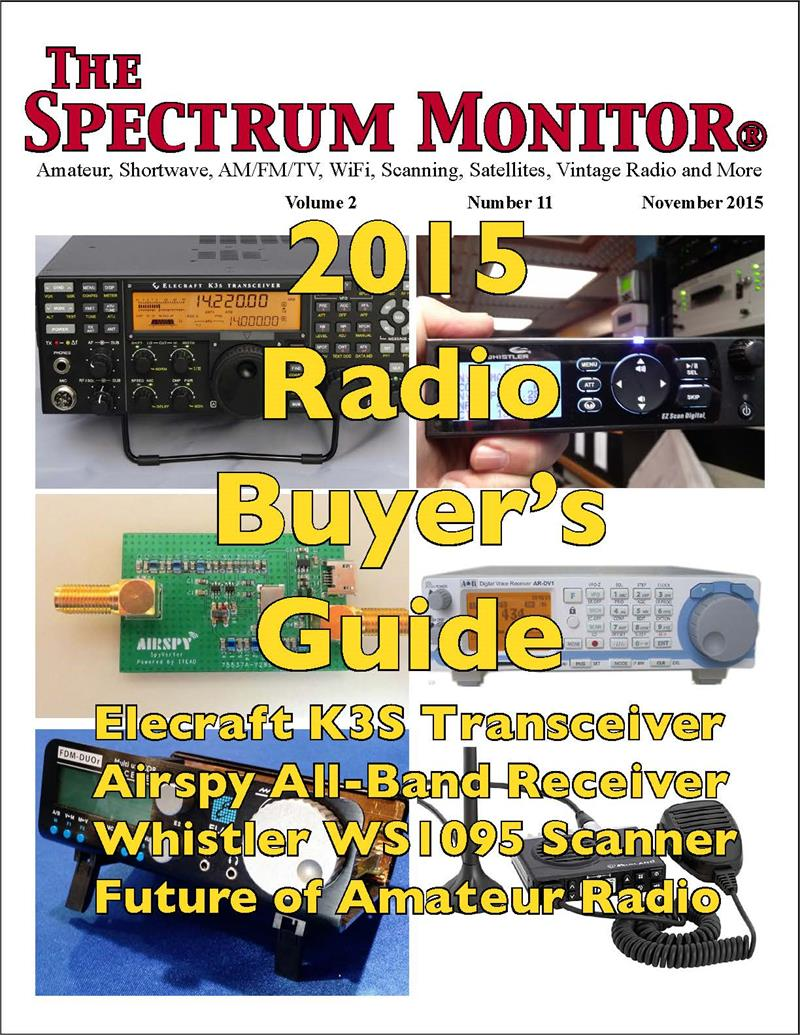 The Spectrum Monitor — November, 2015