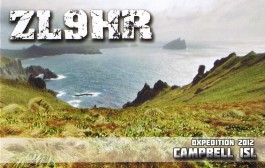 DXCC News ZL9 – New Zealand Subantarctic Island