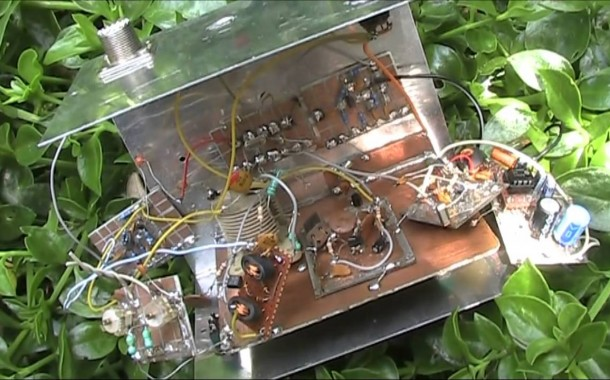 Anatomy of a homebrew 40m superhet receiver