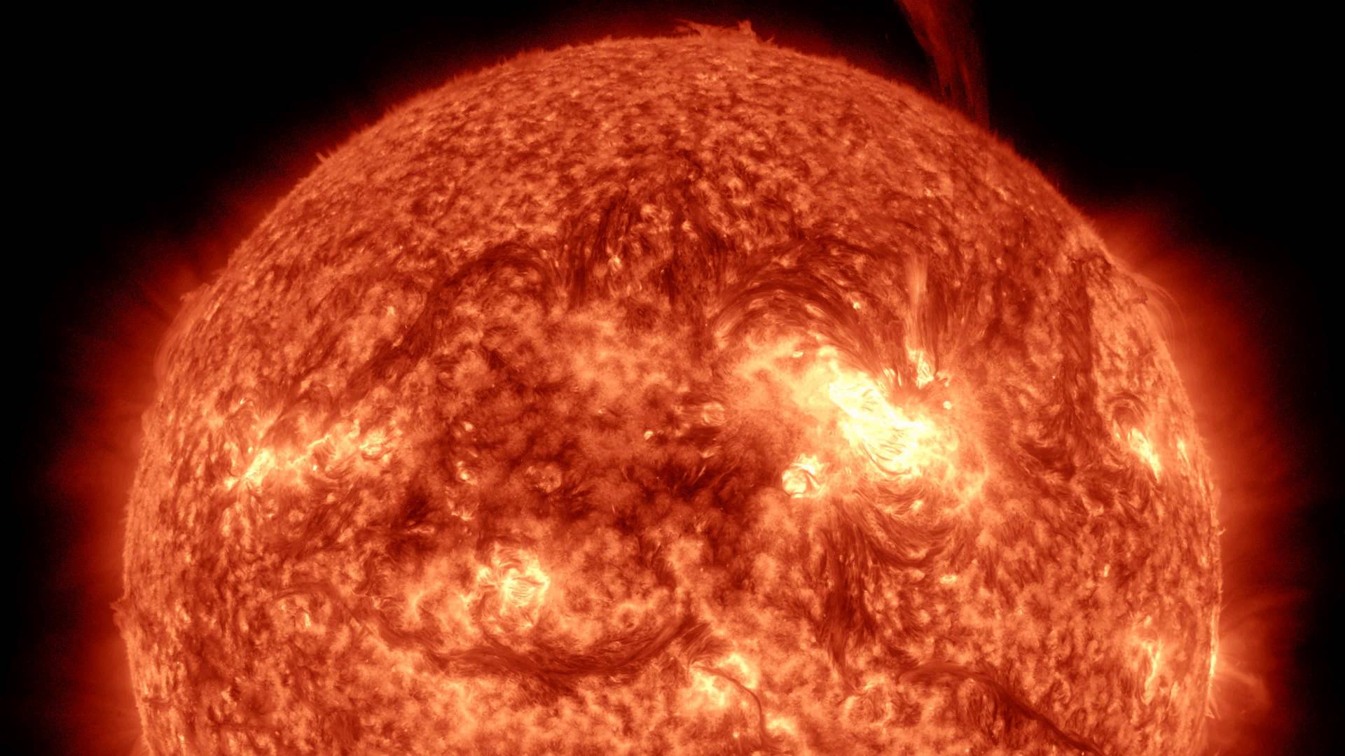 NASA releases video of Sun in 4K