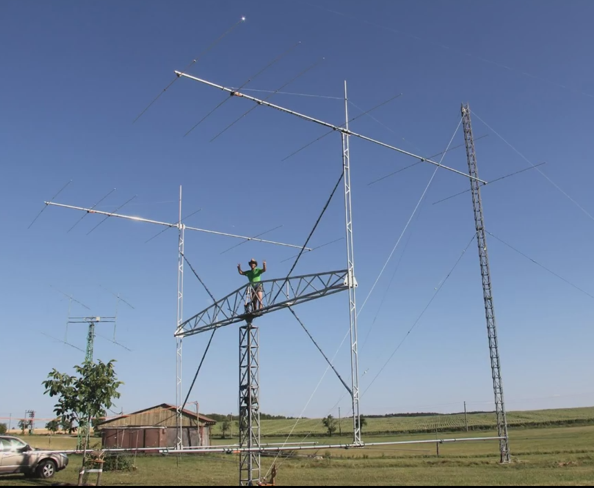 OL7M installed monster G0KSC 28MHz system