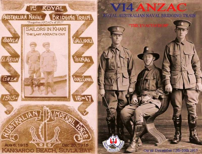 VI4ANZAC Final Commemorative Event is Under Way