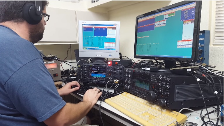 CQWW CW 2015 N6MJ operating as ZF2MJ ( SO2R )
