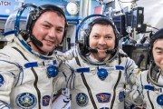 All-Ham ISS Crew Increment Returns to Earth After 141 Days in Space
