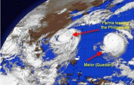 Philippine Radio Amateurs Respond to Typhoon Threat