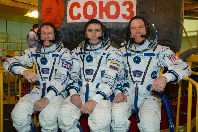 NASA TV to cover launch of Tim Peake KG5BVI