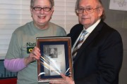 ARRL President Bestows President's Award on AMSAT's Tom Clark, K3IO