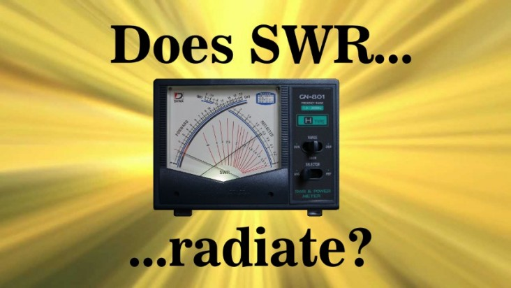 Does SWR Radiate  ?