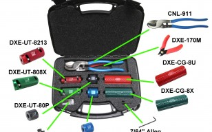 DX Engineering UT-KIT4 Complete Coax Cable Tool Kits DXE-UT-KIT4