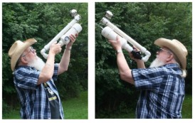 PVC Antenna Launcher by  K8BLO