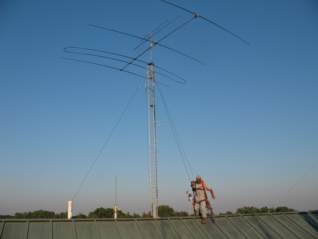 Ham radio operator asked to take down tower