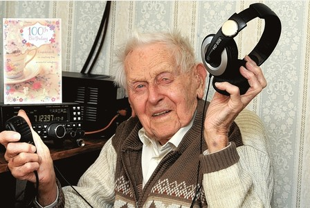 Brentwood radio ham is still taking to the airwaves at age of 100