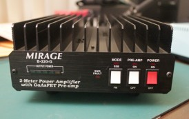 B-320-G  VHF, HT/MOBLE AMP, 200W OUT, 144-148 MHZ