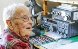 Morro Bay radio enthusiast turns 107, drinks two glasses of wine each day