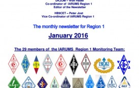 The IARU Monitoring System newsletter reports now available