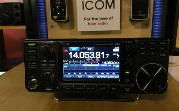 First Impressions of the Icom IC-7300 HF + 6M Transceiver