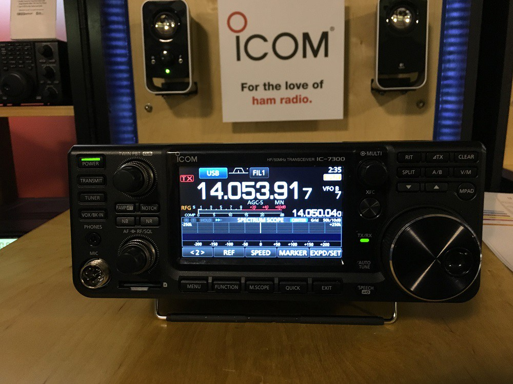 First Impressions Of The I  Ic 7300 Hf 6m Transceiver on icom transceiver