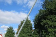 Build a 25'-50' free standing Tilt then Crank up tower antenna