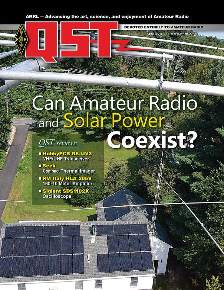 The April Edition of Digital QST is Now Available