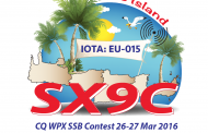 SX9C in CQ WPX SSB Contest, 26-27 Mar 2016