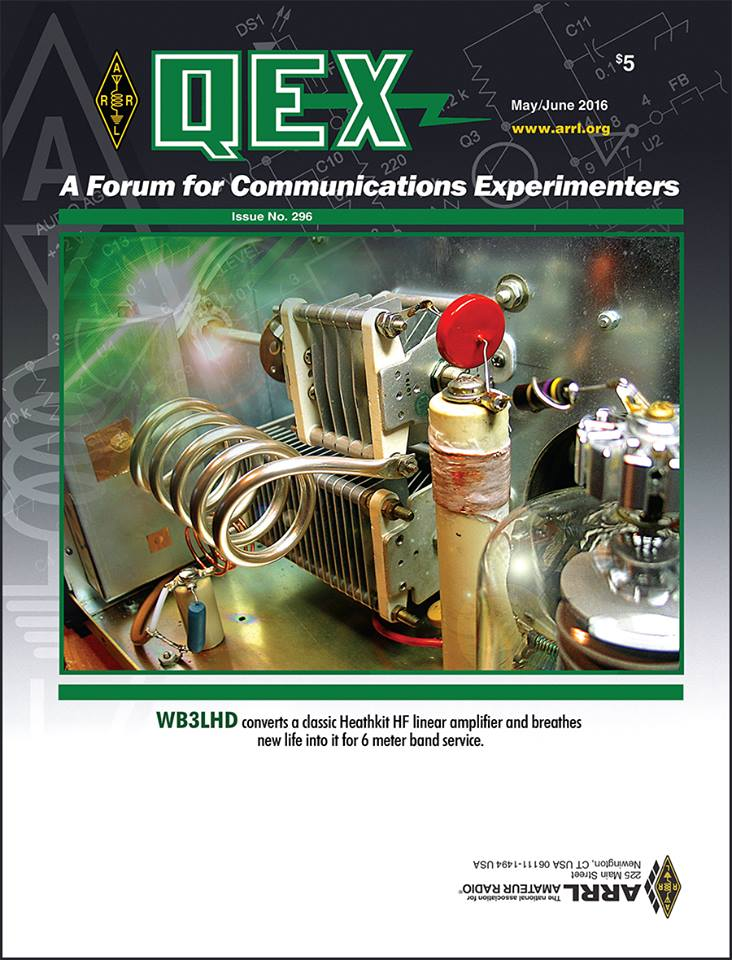 The May/June Issue of QEX is on the Way!