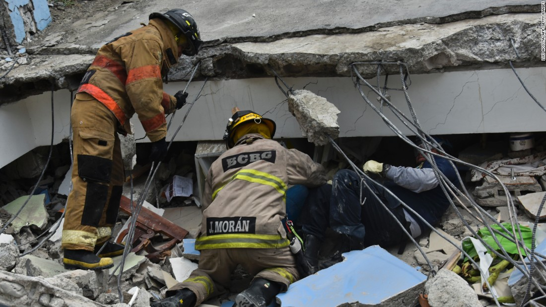 Radio Amateurs Asked to Keep 7.060 MHz Clear for Ecuador Earthquake Emergency Traffic