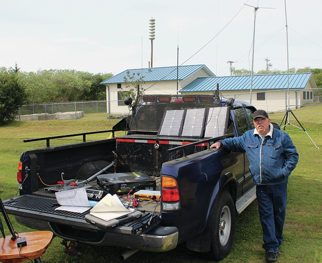 Amateur radio transmits vital signals when disaster strikes