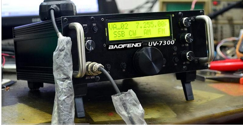 Baofeng UV-7300 Ham radio HF Transceiver  – Its Fake