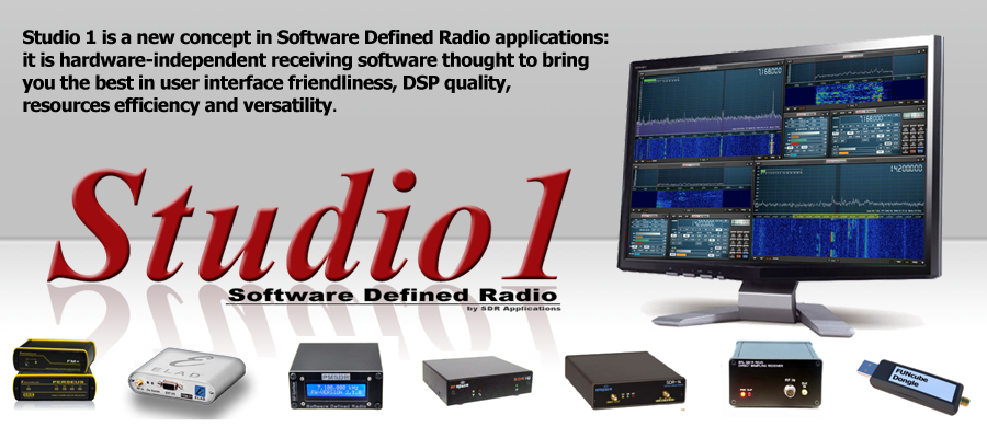 SDRplay announces the acquisition of Studio1 SDR software