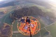 Climbing a 363m Radio Tower in Donebach Germany