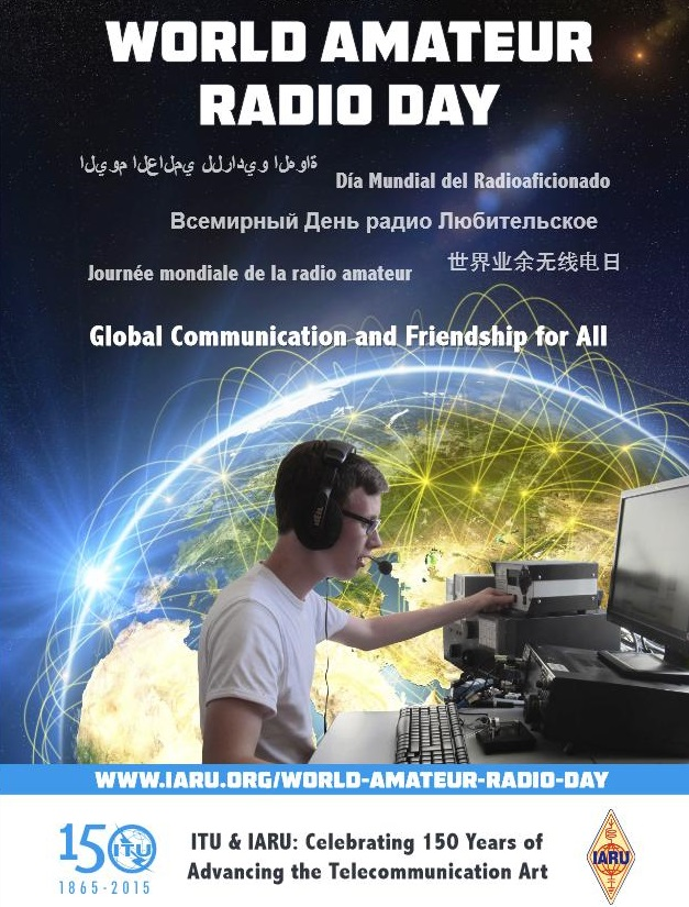 World Amateur Radio Day !