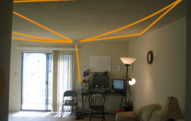 Stealth Apartment Antenna for 20m and 40m!