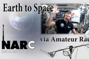 Earth to Space via Amateur Radio