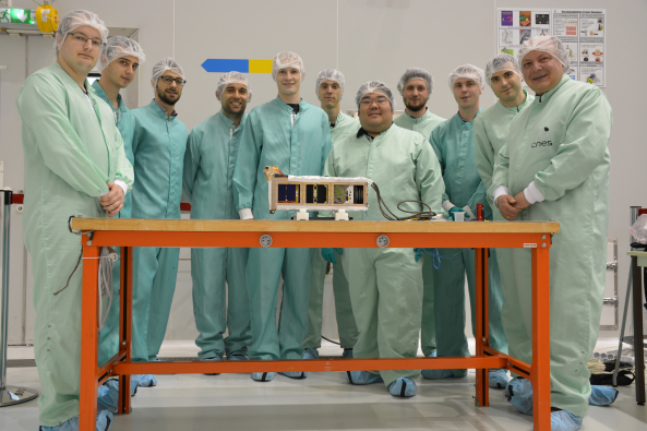 Three new CubeSats now in orbit