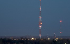 WLW's 500,000 Watt Transmitter and Super Tower