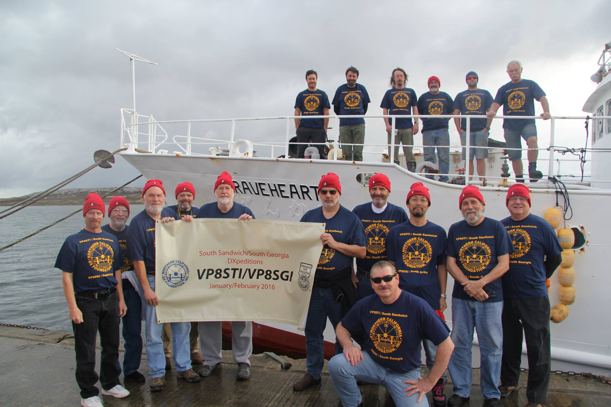 The DXpedition of the year 2015/2016 VP8STI&VP8SGI