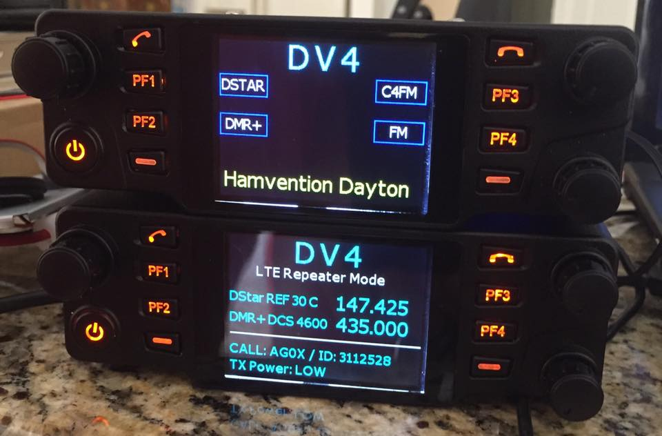 Dv4mobile First All Mode Digital Tri Band Transceiver